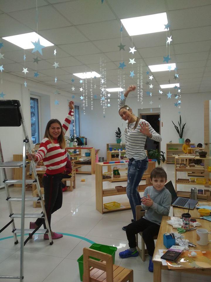 Детский сад готовится к праздникам